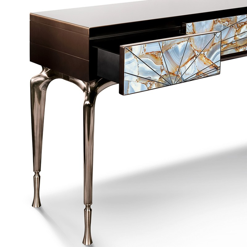 console tables Home and Living 2018: Modern Console Tables Taylor Llorente living space