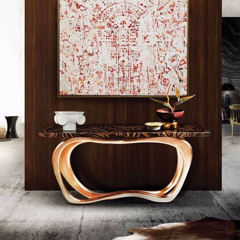 console table Top Ideas to Arrange Art Above a Console Table Top Ideas to Arrange Art Above a Console Table15