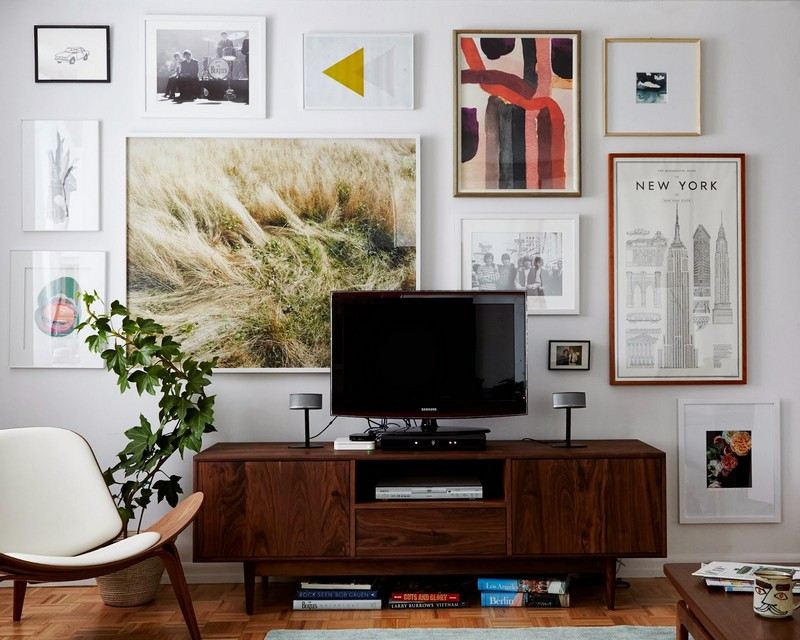 console table Top Ideas to Arrange Art Above a Console Table Top Ideas to Arrange Art above Console Table