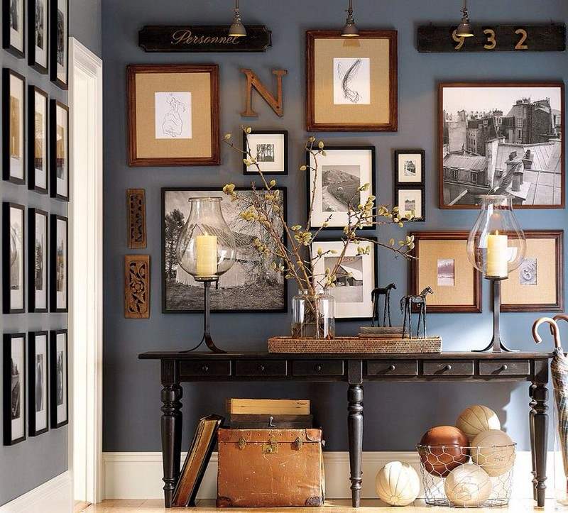 console table Top Ideas to Arrange Art Above a Console Table Top Ideas to Arrange Art above Console Table10