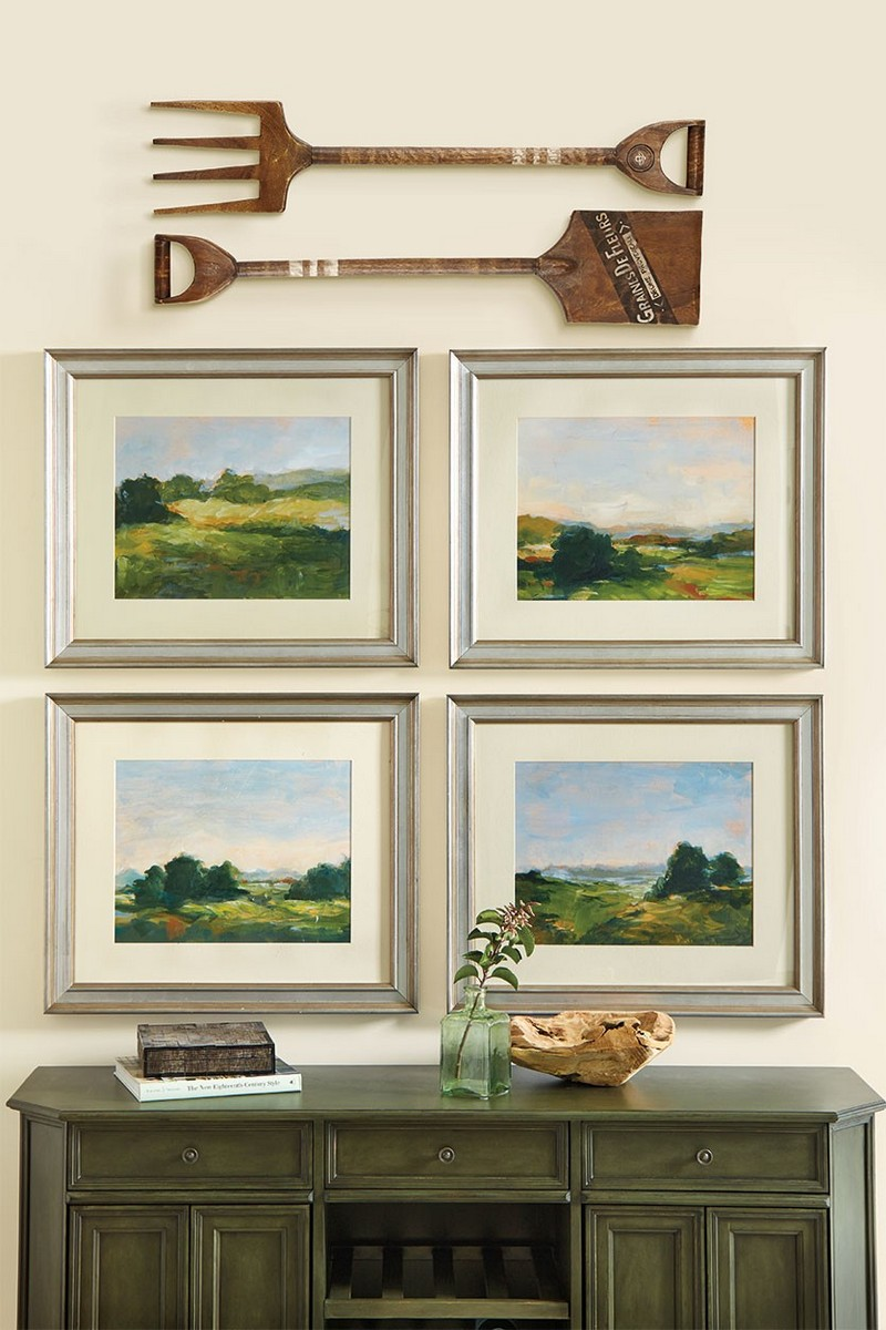 console table Top Ideas to Arrange Art Above a Console Table Top Ideas to Arrange Art above Console Table12