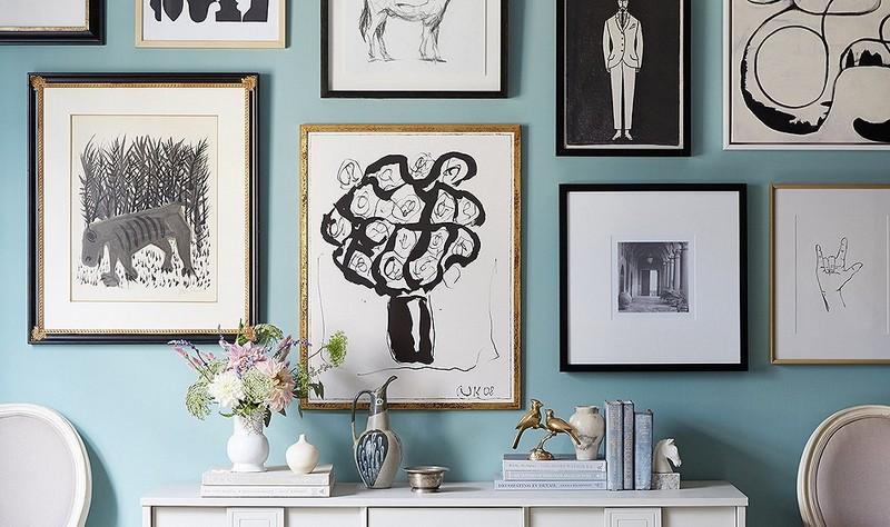 Top Ideas To Arrange Art Above A Console Table