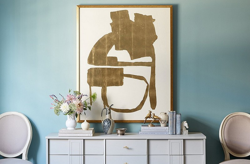 console table Top Ideas to Arrange Art Above a Console Table Top Ideas to Arrange Art above Console Table4