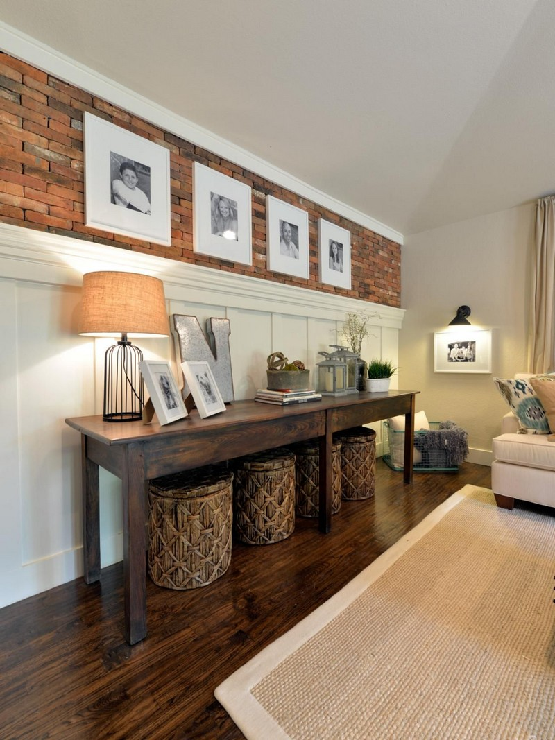 console table Top Ideas to Arrange Art Above a Console Table Top Ideas to Arrange Art above Console Table5