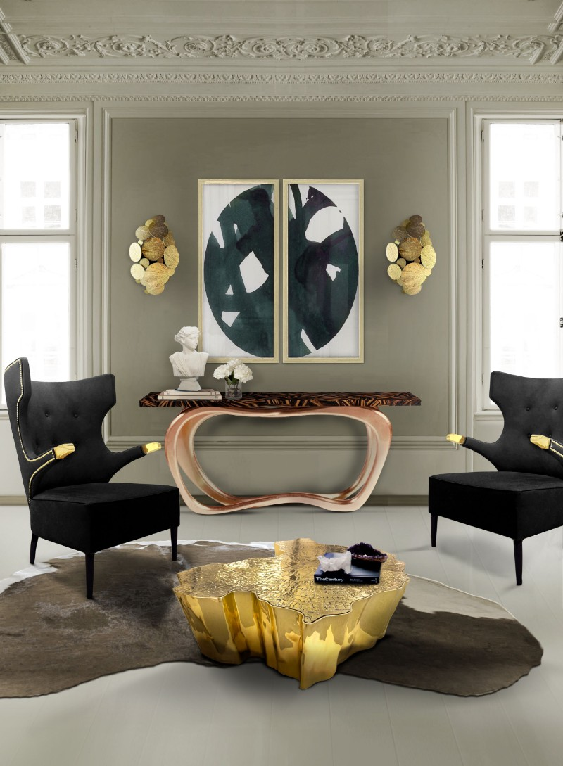console tables Home and Living 2018: Modern Console Tables living room eden table