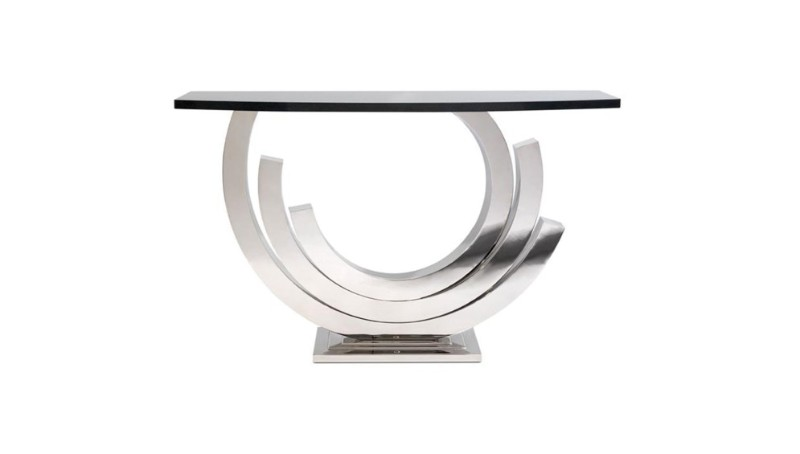 console tables Home and Living 2018: Modern Console Tables silverrevconsole villiers brothers