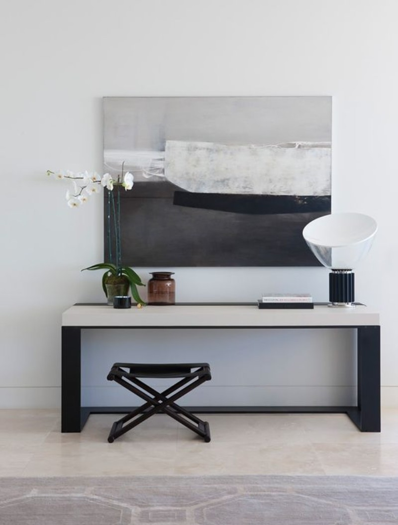 modern console tables Explore These Modern Console Tables For Your Contemporary Home 10 Sculptural Console Tables For Sublime Entryway 3