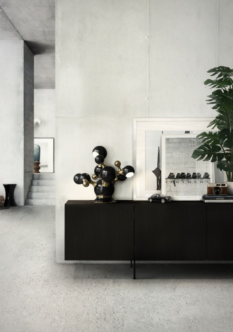 black console tables Black Console Tables Are A Trend To Stay Black Console Tables Are A Trend To Stay 2