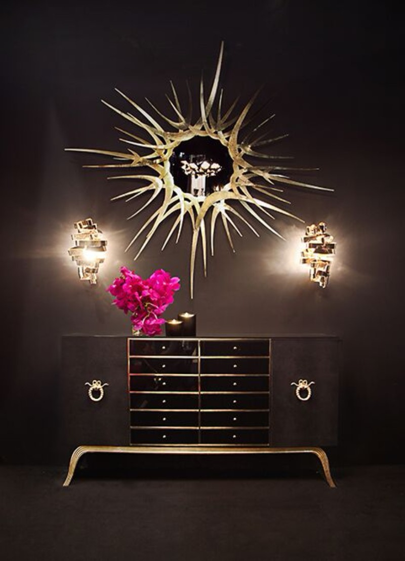 black console tables Black Console Tables Are A Trend To Stay Black Console Tables Are A Trend To Stay sinful console