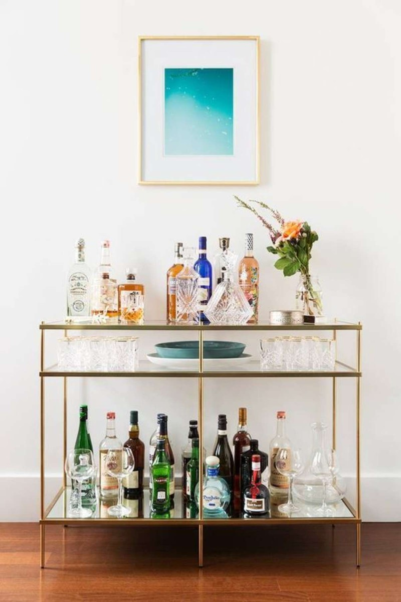 Console Tables How To Turn Console Tables Into a Bar How To Turn Console Tables Into a Bar 2