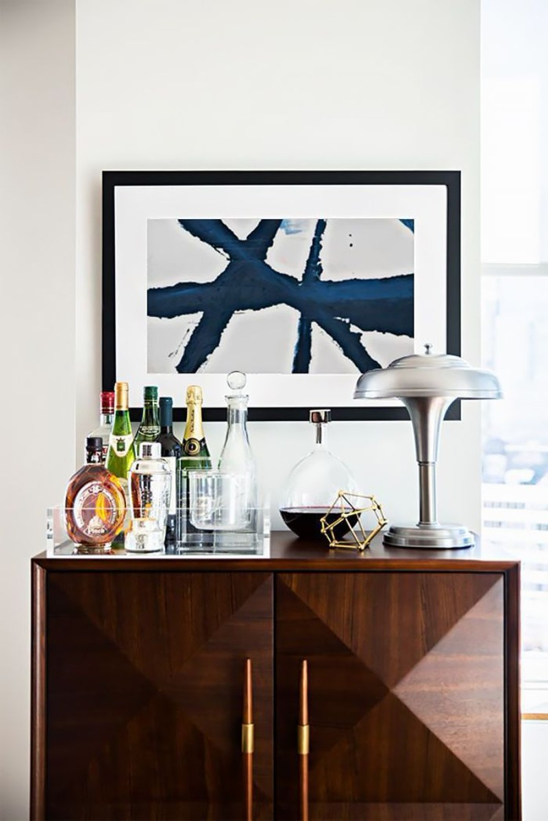 Console Tables How To Turn Console Tables Into a Bar How To Turn Console Tables Into a Bar 4
