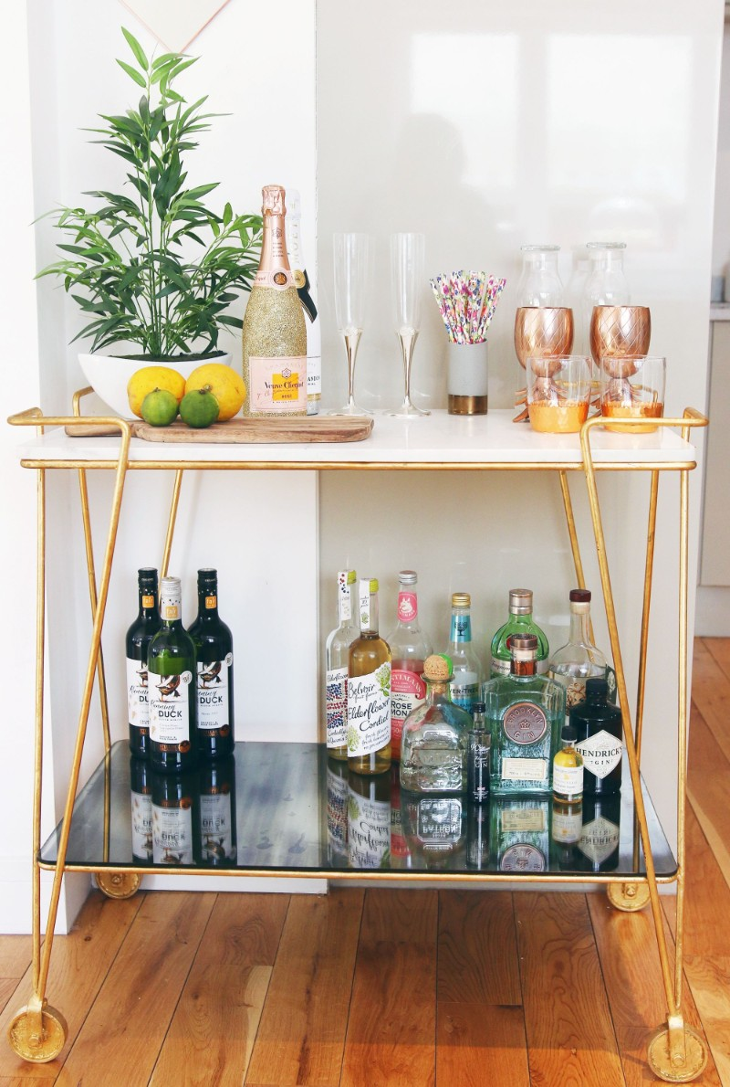 Console Tables How To Turn Console Tables Into a Bar How To Turn Console Tables Into a Bar 5