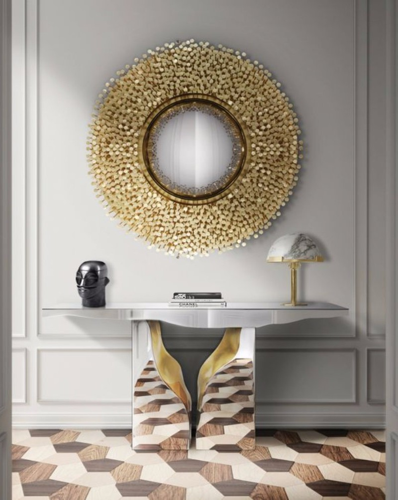 Console Table The Best Modern Mirrors to Hang Over a Console Table The Best Modern Mirrors to Hang Over a Console Table10