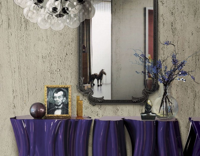 console table Console Table The Best Modern Mirrors to Hang Over a Console Table The Best Modern Mirrors to Hang Over a Console Table14