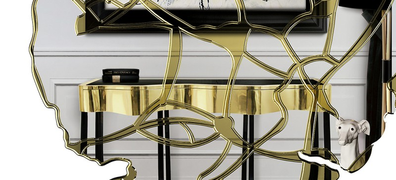Console Table The Best Modern Mirrors to Hang Over a Console Table The Best Modern Mirrors to Hang Over a Console Table22