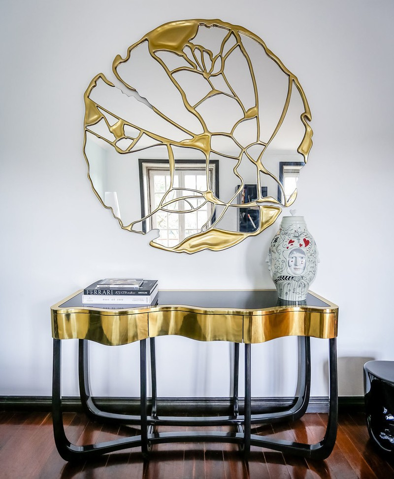 Console Table The Best Modern Mirrors to Hang Over a Console Table The Best Modern Mirrors to Hang Over a Console Table23