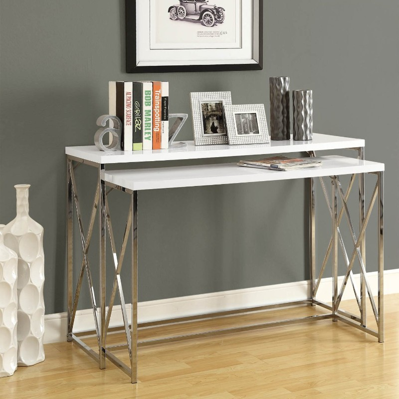 white console tables The Best White Console Tables for your Living Room The Best White Console Tables for your Living Room 5