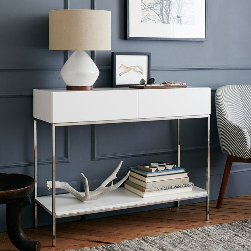 white console tables The Best White Console Tables for your Living Room The Best White Console Tables for your Living Room 7