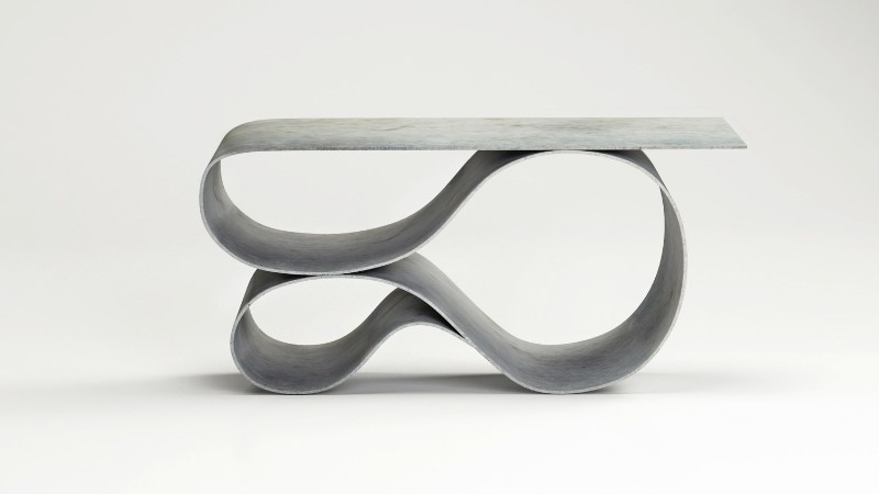 Console Table The New Sculptural Console Table by Neal Aronowitz The New Sculptural Console Table by Neal Aronowitz 2