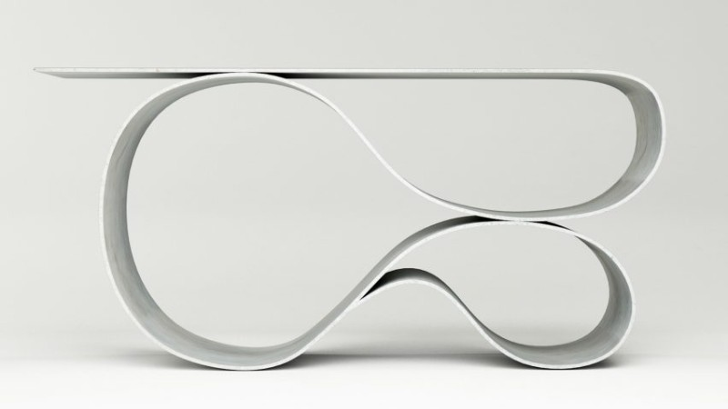 Console Table The New Sculptural Console Table by Neal Aronowitz The New Sculptural Console Table by Neal Aronowitz 9
