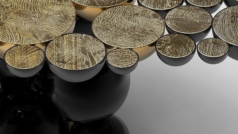 Console tables Top Black and Gold Console Tables for Your Interior Top Black and Gold Console Tables for Your Interior 4