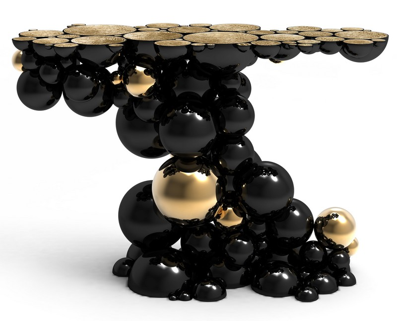 Console tables Top Black and Gold Console Tables for Your Interior Top Black and Gold Console Tables for Your Interior 5