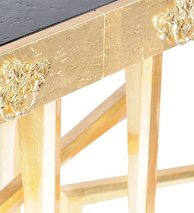 gold console tables Top Gold Console Tables Top High End Gold Console Tables 1
