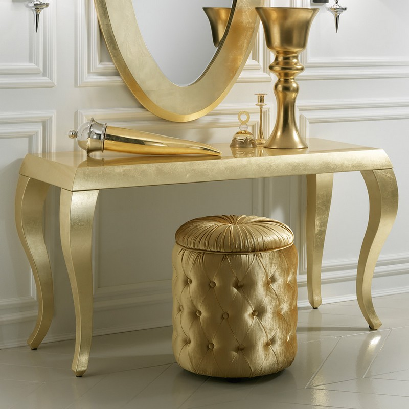 gold console tables Top Gold Console Tables Top High End Gold Console Tables4