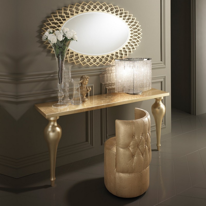 gold console tables Top Gold Console Tables Top High End Gold Console Tables5