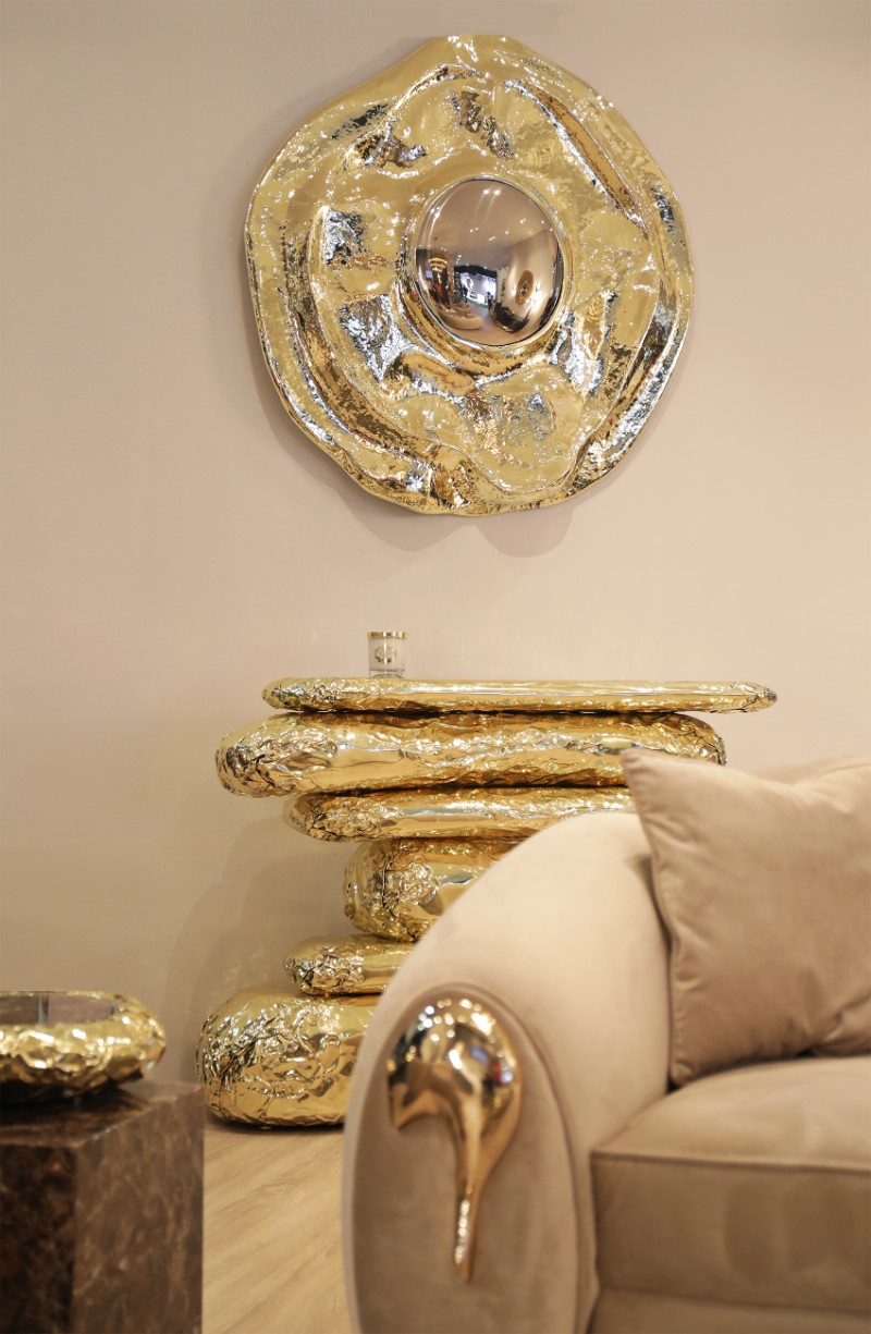 console table 9 Wall Mirrors to Match Your Console Table angra