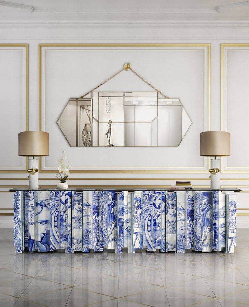 console table console table 9 Wall Mirrors to Match Your Console Table koket