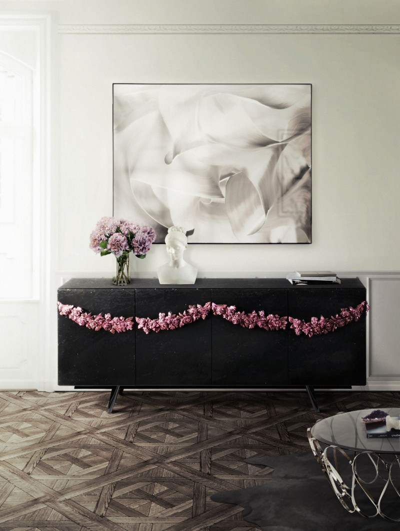 black console tables black console tables Black Console Tables Are A Trend To Stay majestic