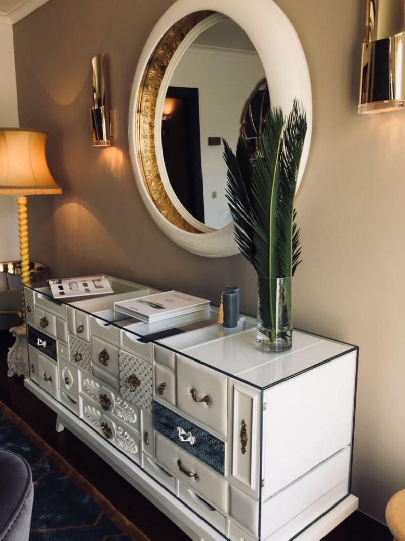 console tables The Most Luxurious Console Tables at Covet House mondrian