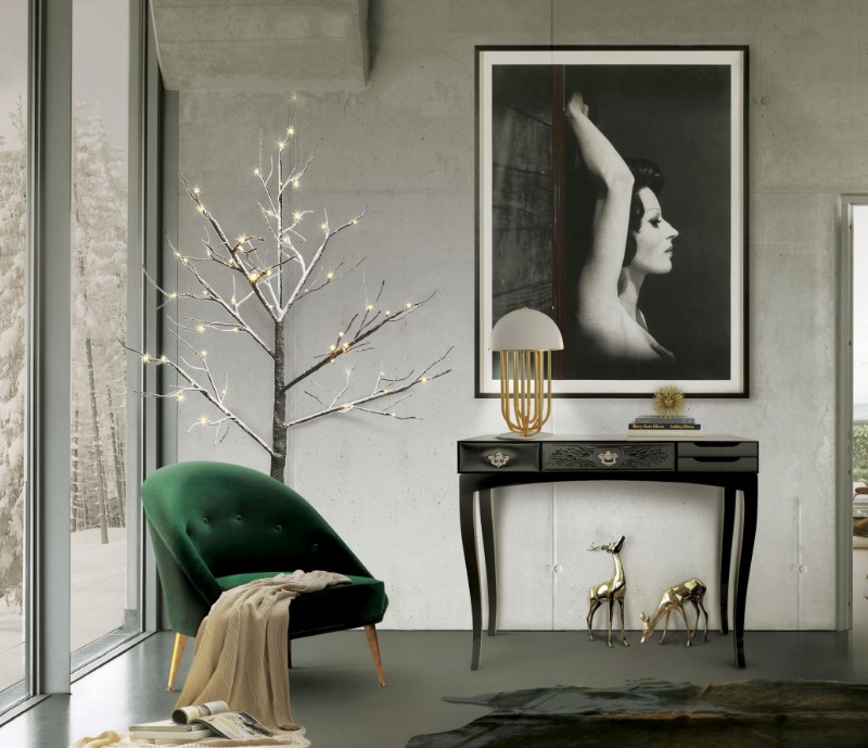 black console tables Black Console Tables Are A Trend To Stay soho black console