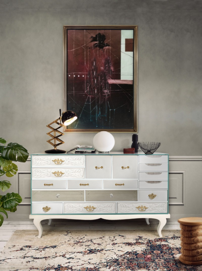 white console tables The Best White Console Tables for your Living Room soho white