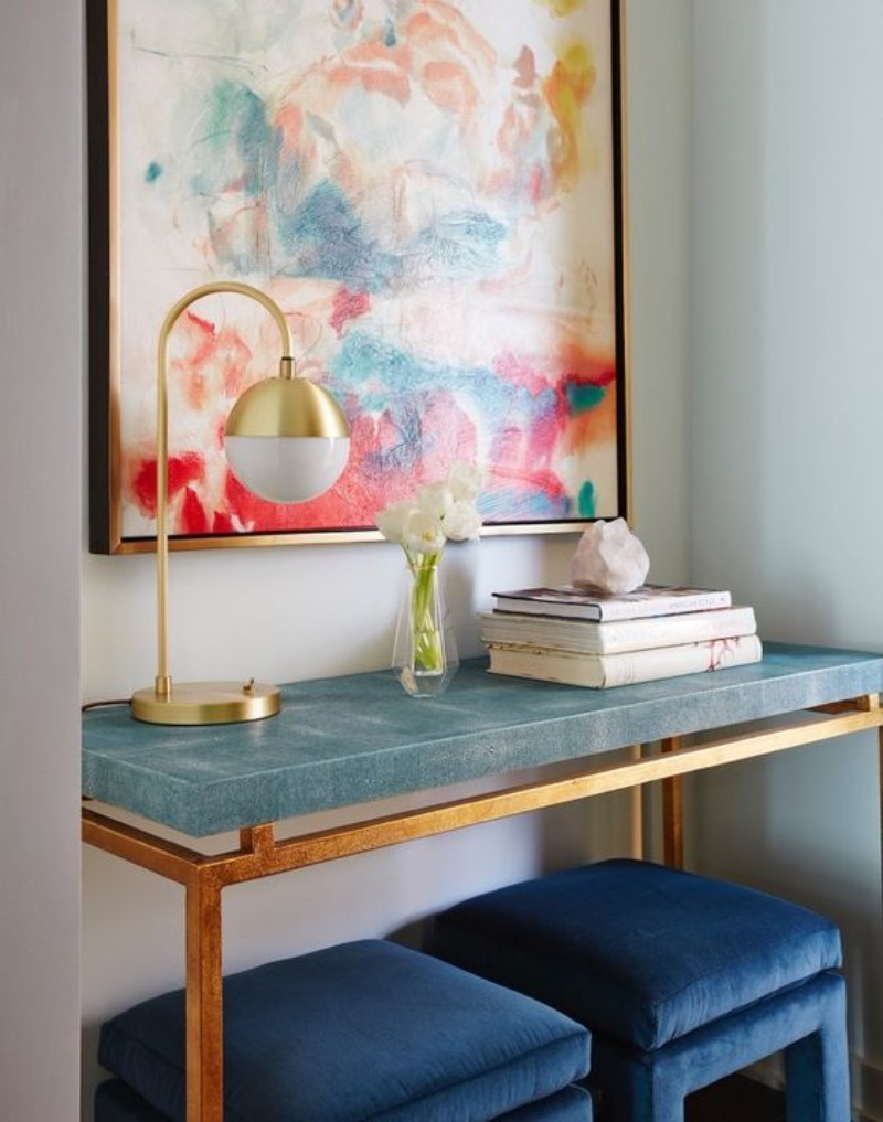 modern console tables Colorful Modern Console Tables for your Entryway Colourful Console Table for your Entryway 2