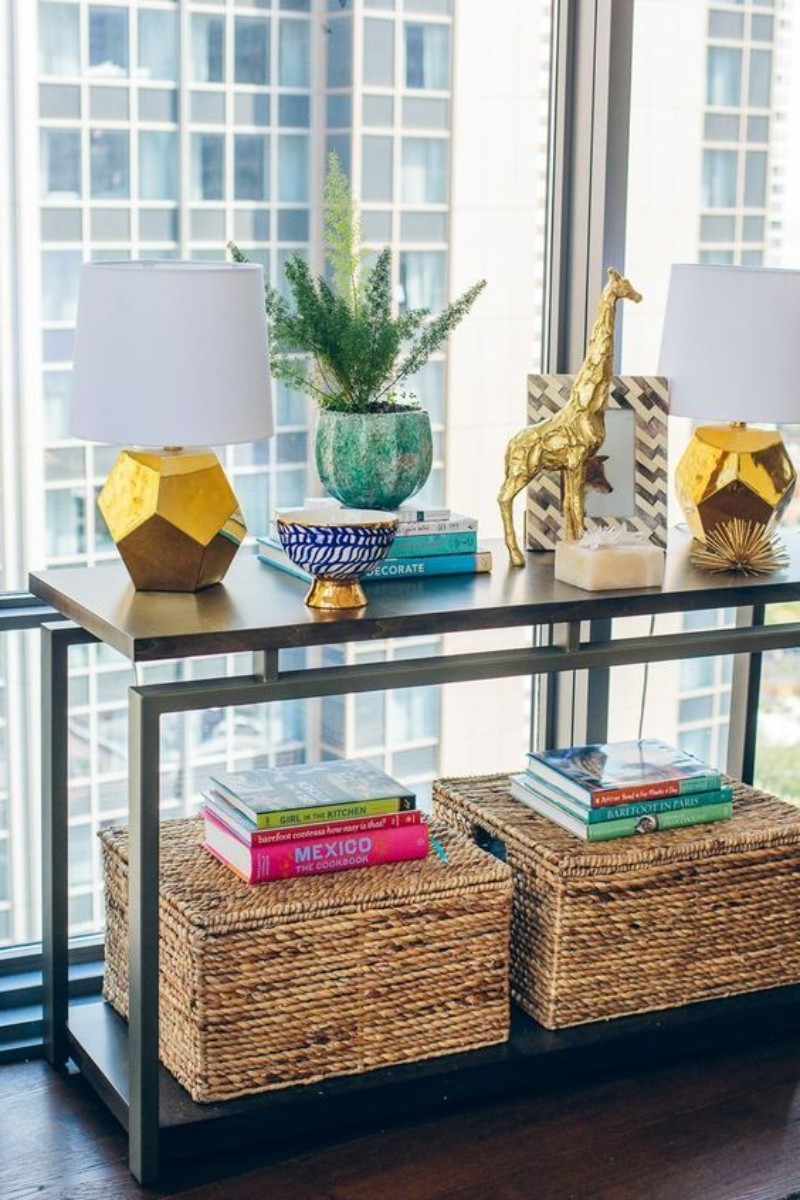 modern console tables Colorful Modern Console Tables for your Entryway Colourful Console Table for your Entryway 7