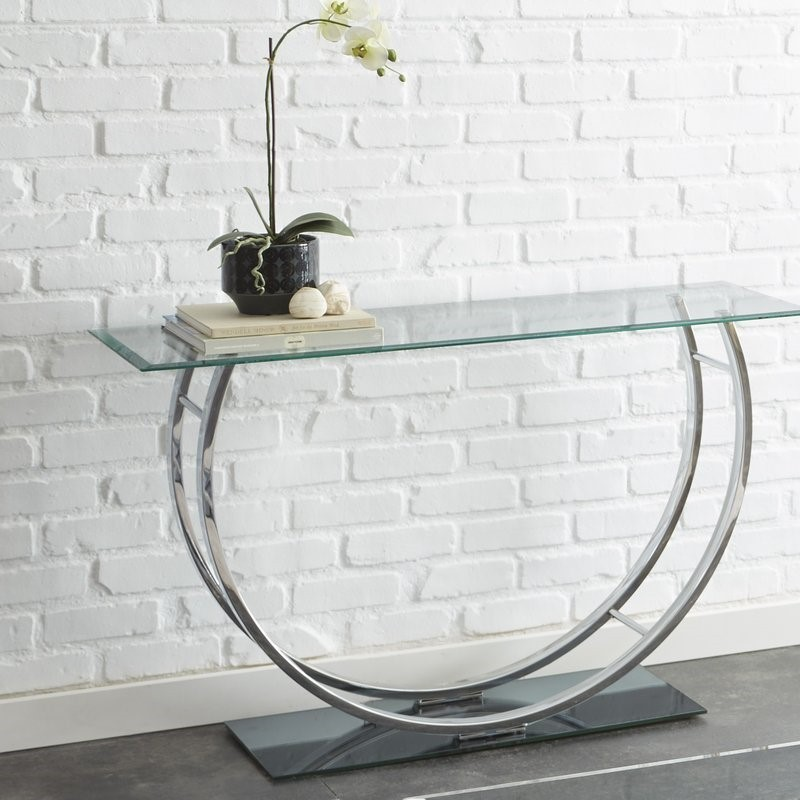 console tables Glass Modern Console Tables For Your Entryway Glass Modern Console Tables For Your Entryway 5