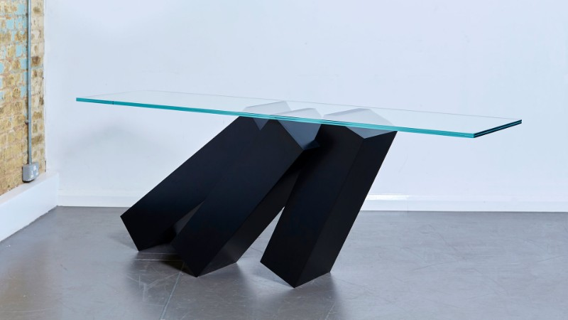 console table Monolith Console Table by Duffy London Monolith Console Table by Duffy London 1