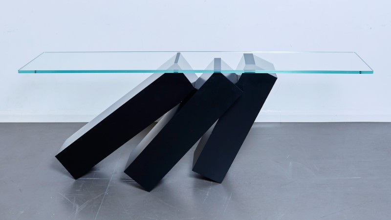 console table Monolith Console Table by Duffy London Monolith Console Table by Duffy London 2