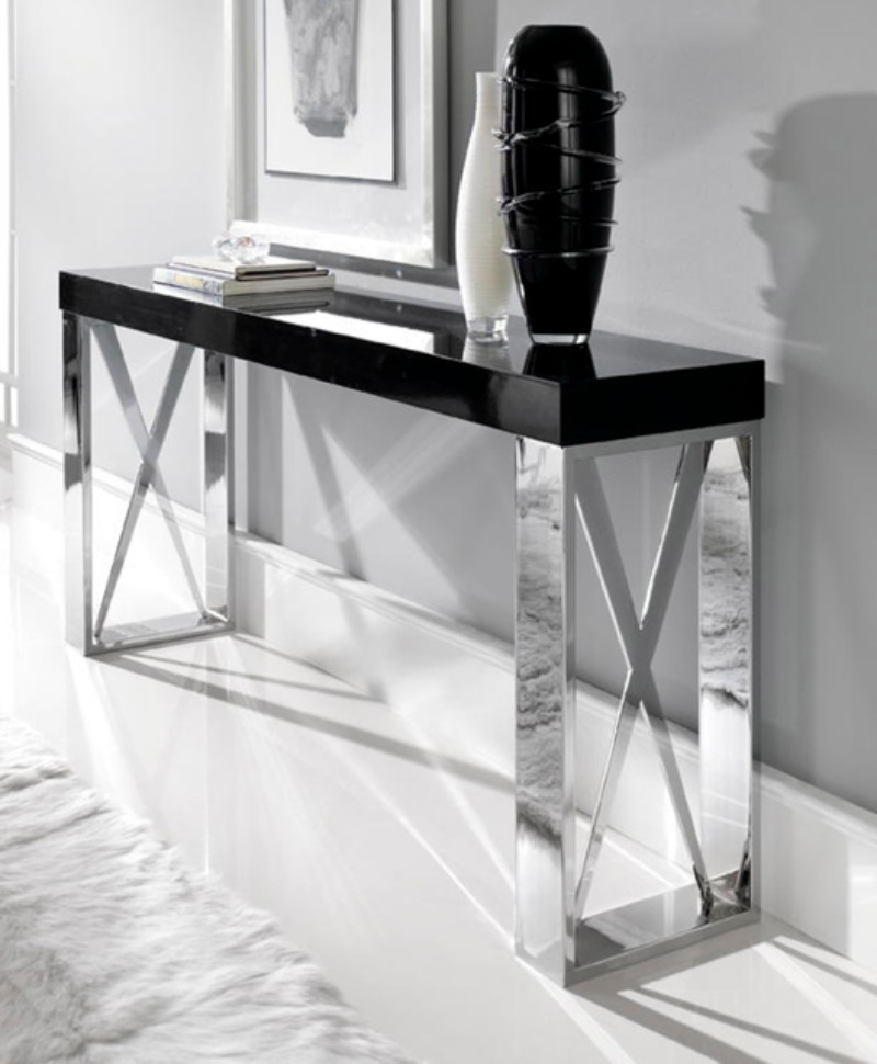 modern console tables 10 Black and White Modern Console Tables 10 Black and White Modern Console Tables 1