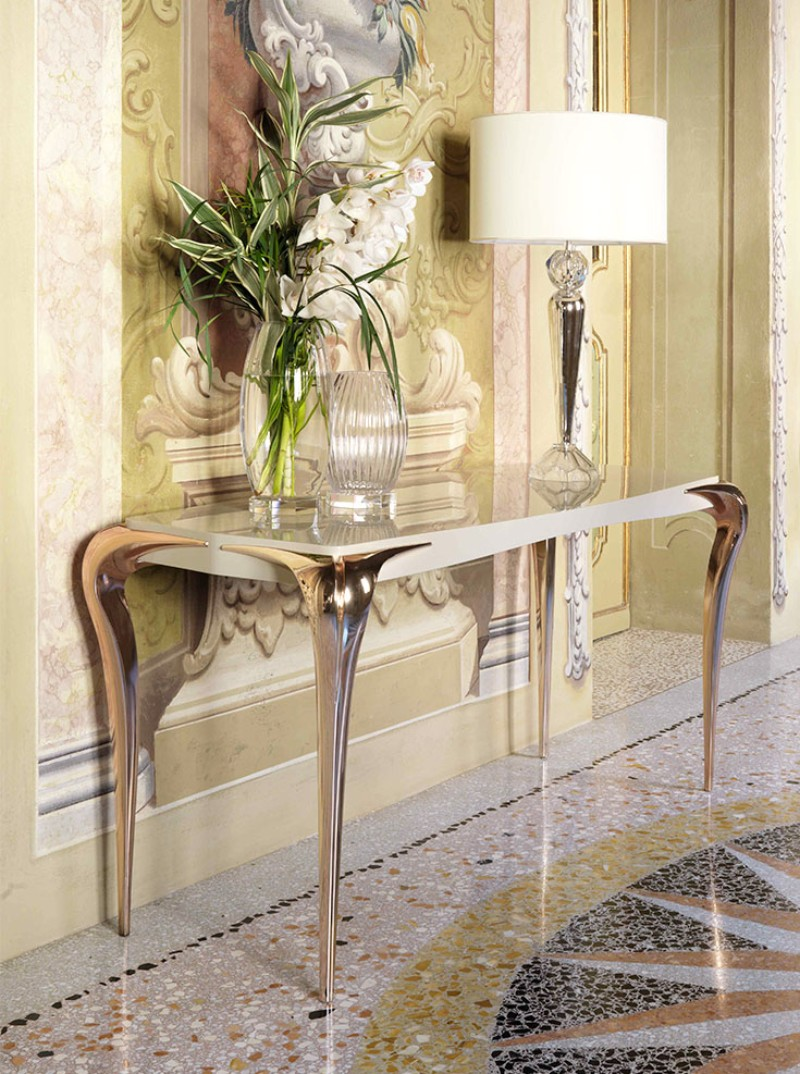 modern console tables modern console tables 10 Modern Console Tables by Luxury Living Group 10 Modern Console Tables by Luxury Living Group 4