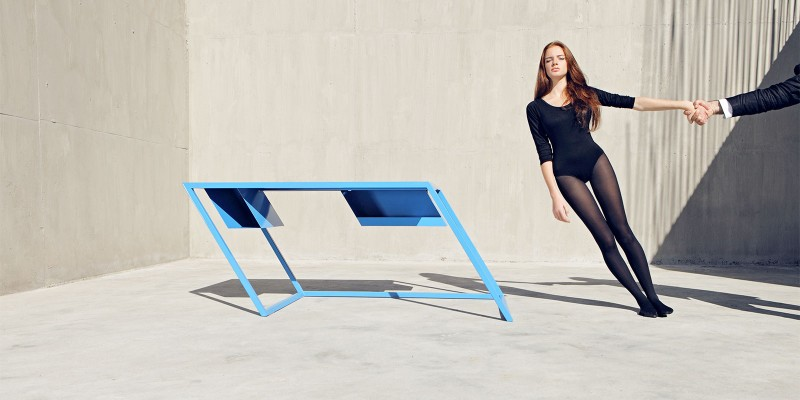 XYZ 60º Degree Console Tables By XYZ 45   Degree Console Tables By XYZ 3