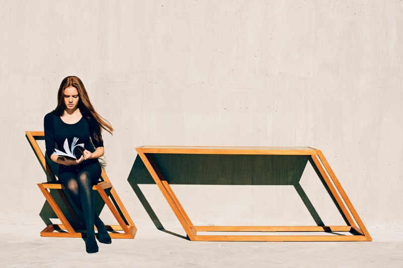 XYZ 60º Degree Console Tables By XYZ 45   Degree Console Tables By XYZ 7