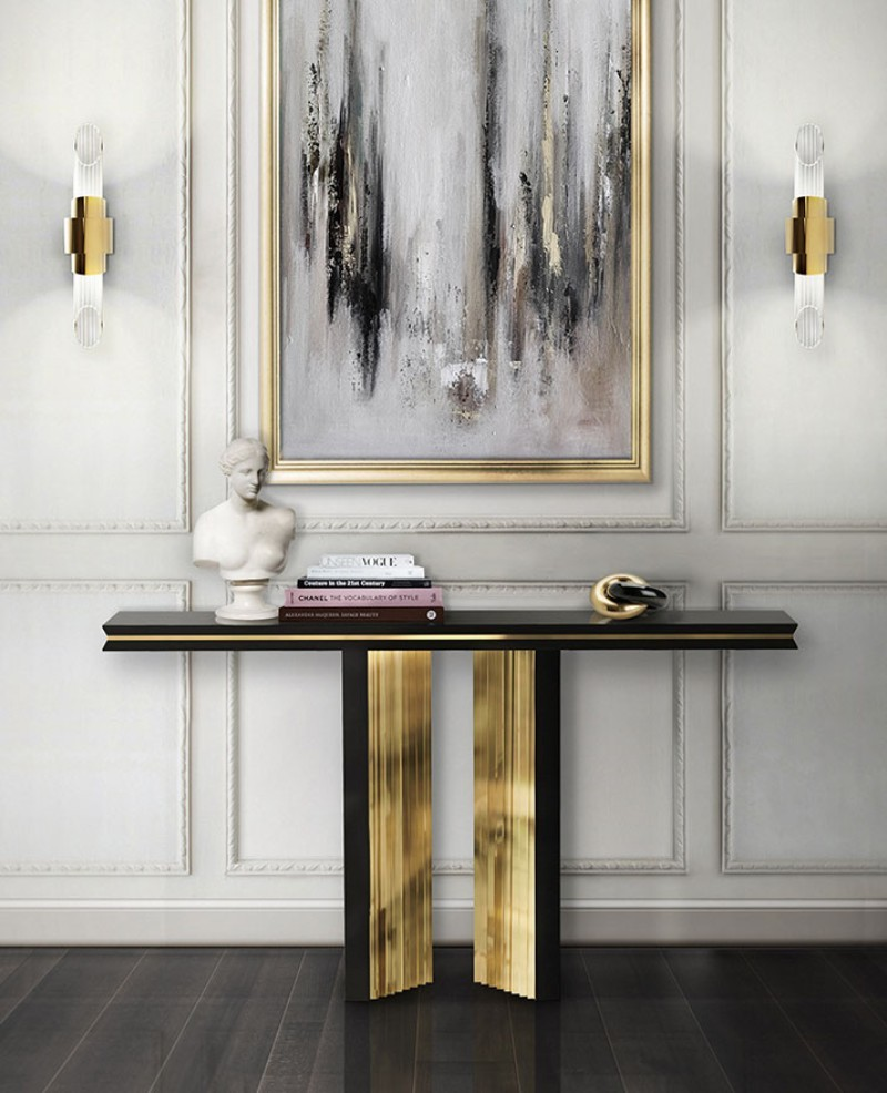 black console tables Black Console Tables and Sideboards For The Most Luxury Home Decor Black Console Tables and Sideboards For The Most Luxury Home Decor 3