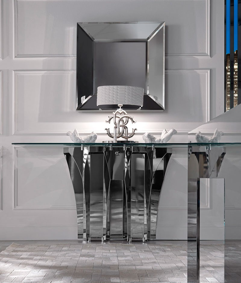 modern console table Modern Console Tables by Roberto Cavalli Console Tables by Roberto Cavalli 5
