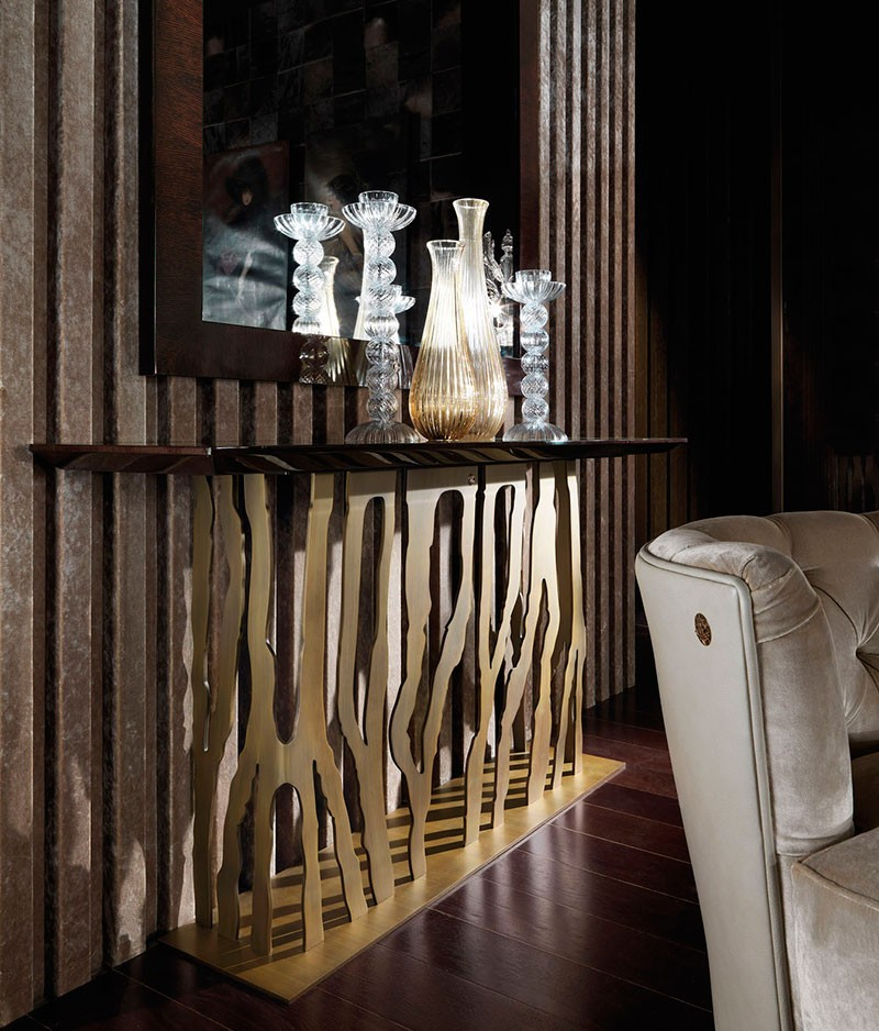 modern console table Modern Console Tables by Roberto Cavalli Console Tables by Roberto Cavalli 7