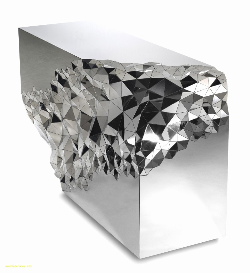 Mirrored Console Table Geometric Mirrored Console Table By Jake Phipps Geometric Mirrored Console Table By Jake Phipps 1
