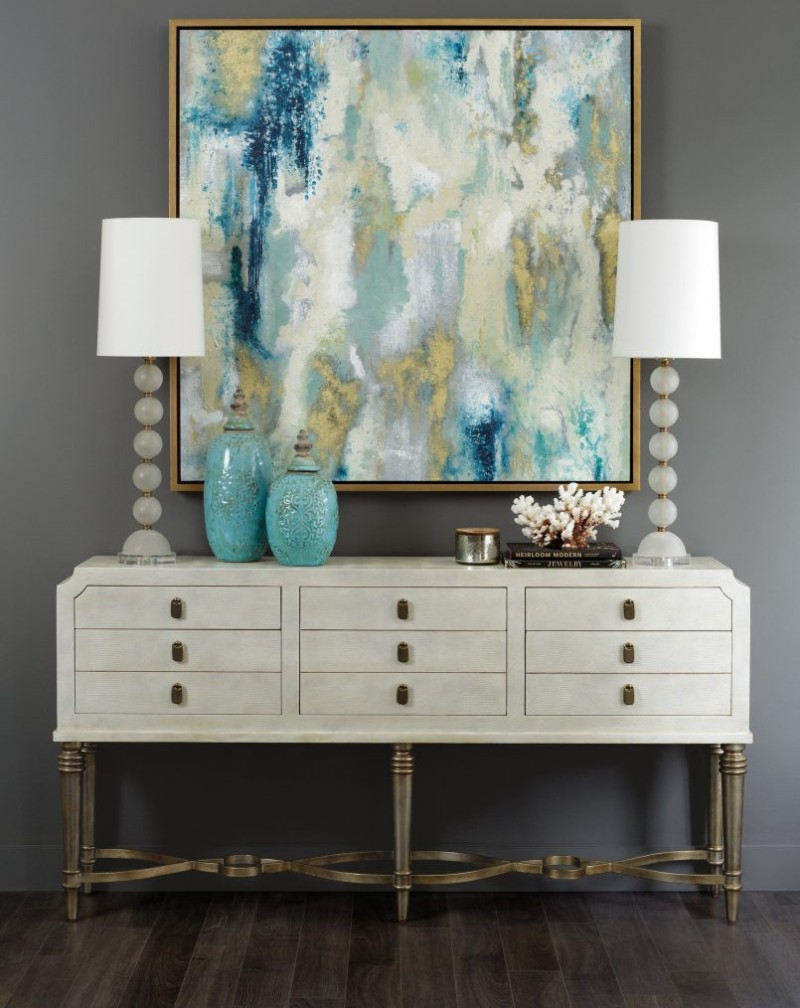 console table How to Turn your Console Table Into a Summer Anthem How to Turn your Console Table Into a Summer Anthem 6
