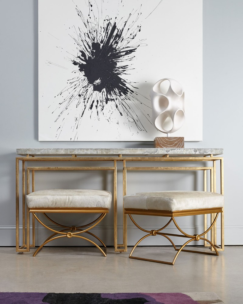 console table How to Turn your Console Table Into a Summer Anthem How to Turn your Console Table Into a Summer Anthem 7